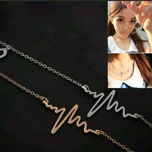 Jewelry - Heartbeat EKG Neclace - Love Doctor Nurse Gift!